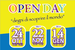 Open day 2015/2016